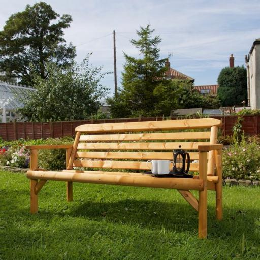 Thornton Rustic 5ft 3 Seater Bench