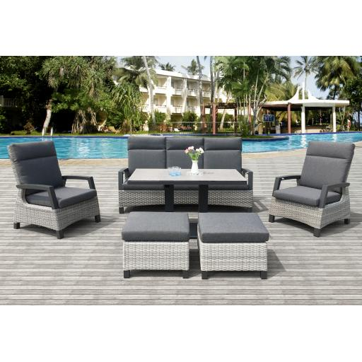 Camila 6 Piece Lounge Set
