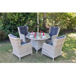 Manhattan 110cm Round Dining Set with Wing Back Chairs (4).jpg