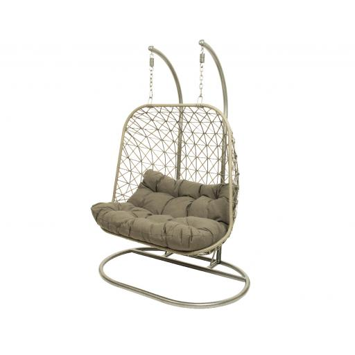 Bologna Two Seat Hanging Chair