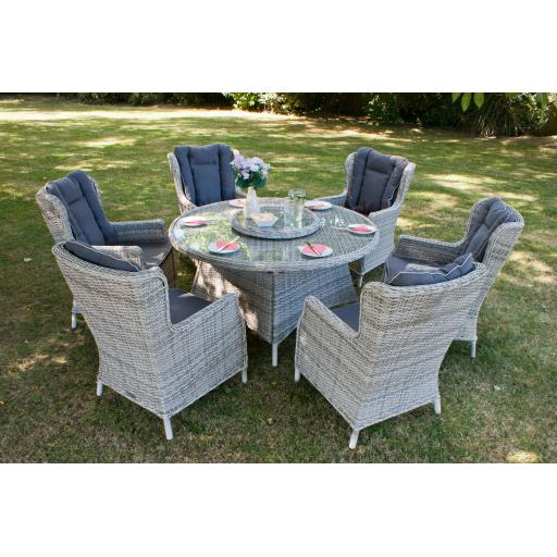 Manhattan 6 Seat Round Set