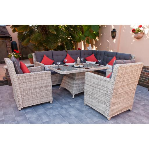 Manhattan Highback Dining Set