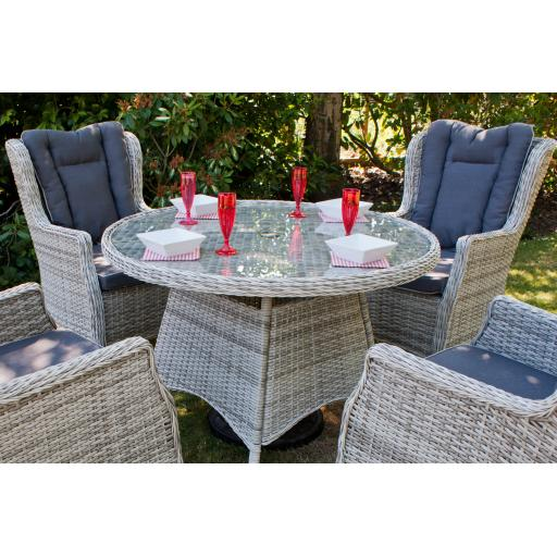Manhattan 110cm Round Dining Set with Wing Back Chairs (8).jpg
