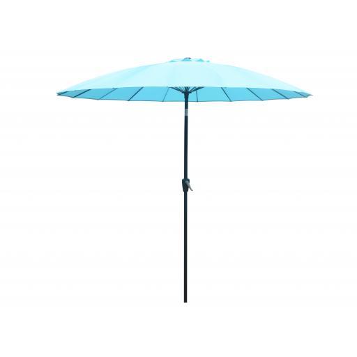 Shanghai parasol 2.7 m Aqua - 981001.jpg