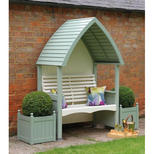 Cottage Arbour Sage & Cream