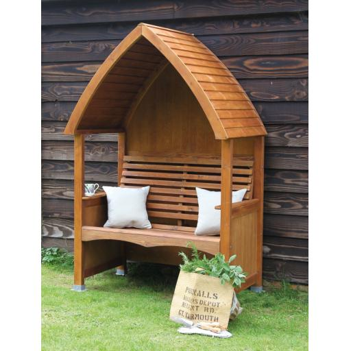 Cottage Arbour Beech Stain