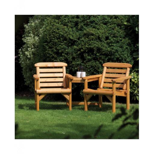 Thornton Rustic Alcove Seat
