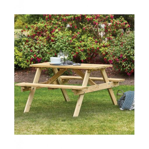 Appleton 1.2m Picnic Bench