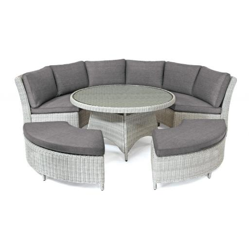 Palma Casual Dining Round Set