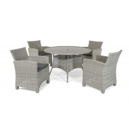 Palma 4 Seat Dining Set