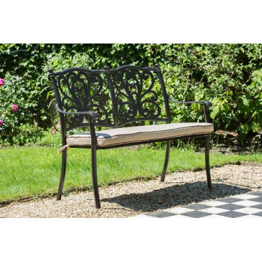 Devon Bench incl Cushion