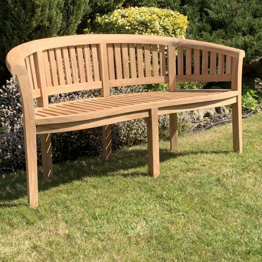 3 Seat Peanut Bench Teak