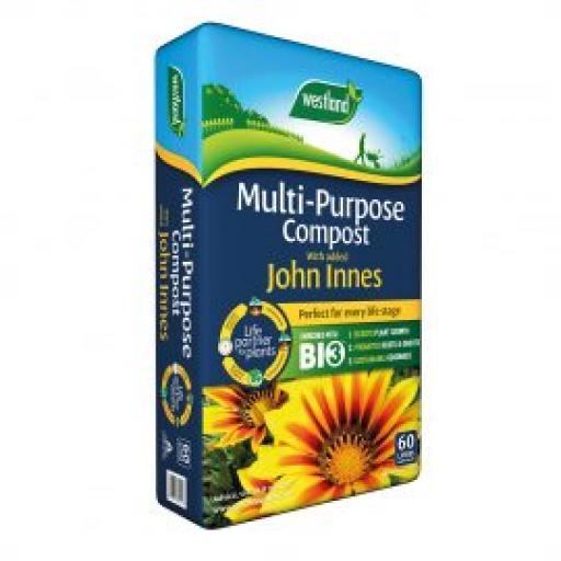 Multipurpose with added John Innes Buy 2 get 3rd Free 50litre