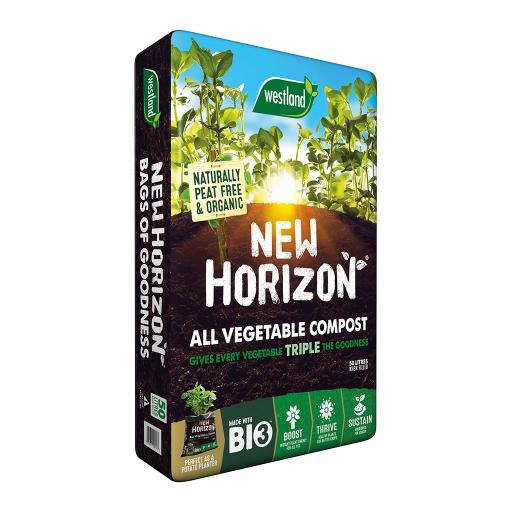 New Horizon Peat Free Vegetable Compost 50litre