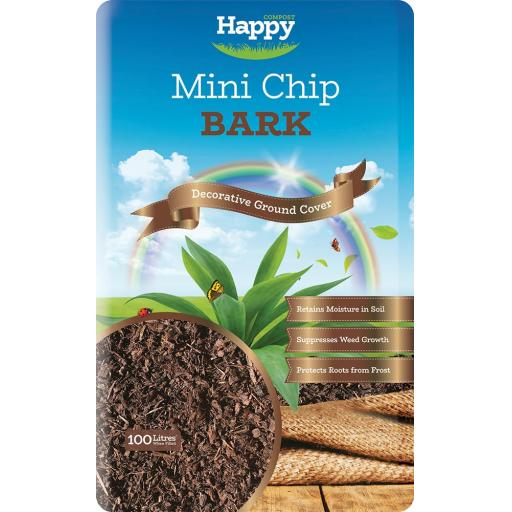 Happy Mini Chip Bark 100litre