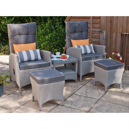 Manhattan Petite Reclining Armchair Set