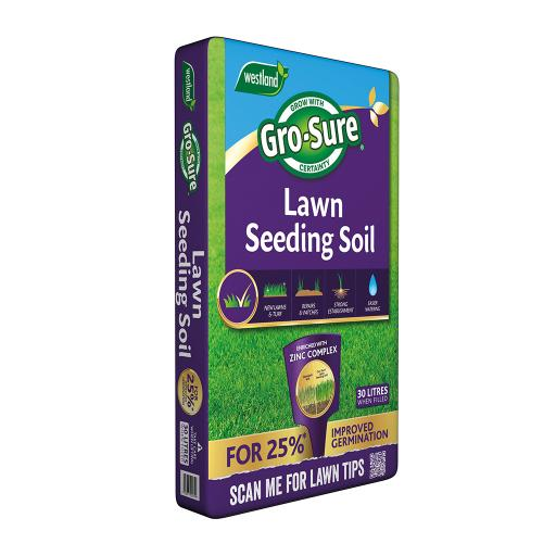 Gro-Sure Lawn Seeding Soil 30litre