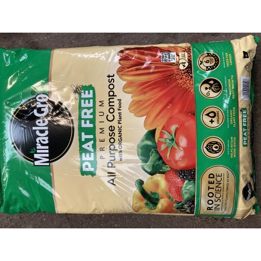 Miracle -Grow All Purpose Peat Free 40litre