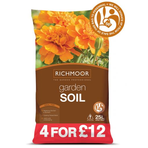 Richmoor Garden Soil 4 for £12 25litre