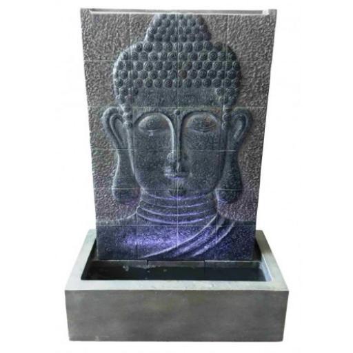 Grey Buddha Wall